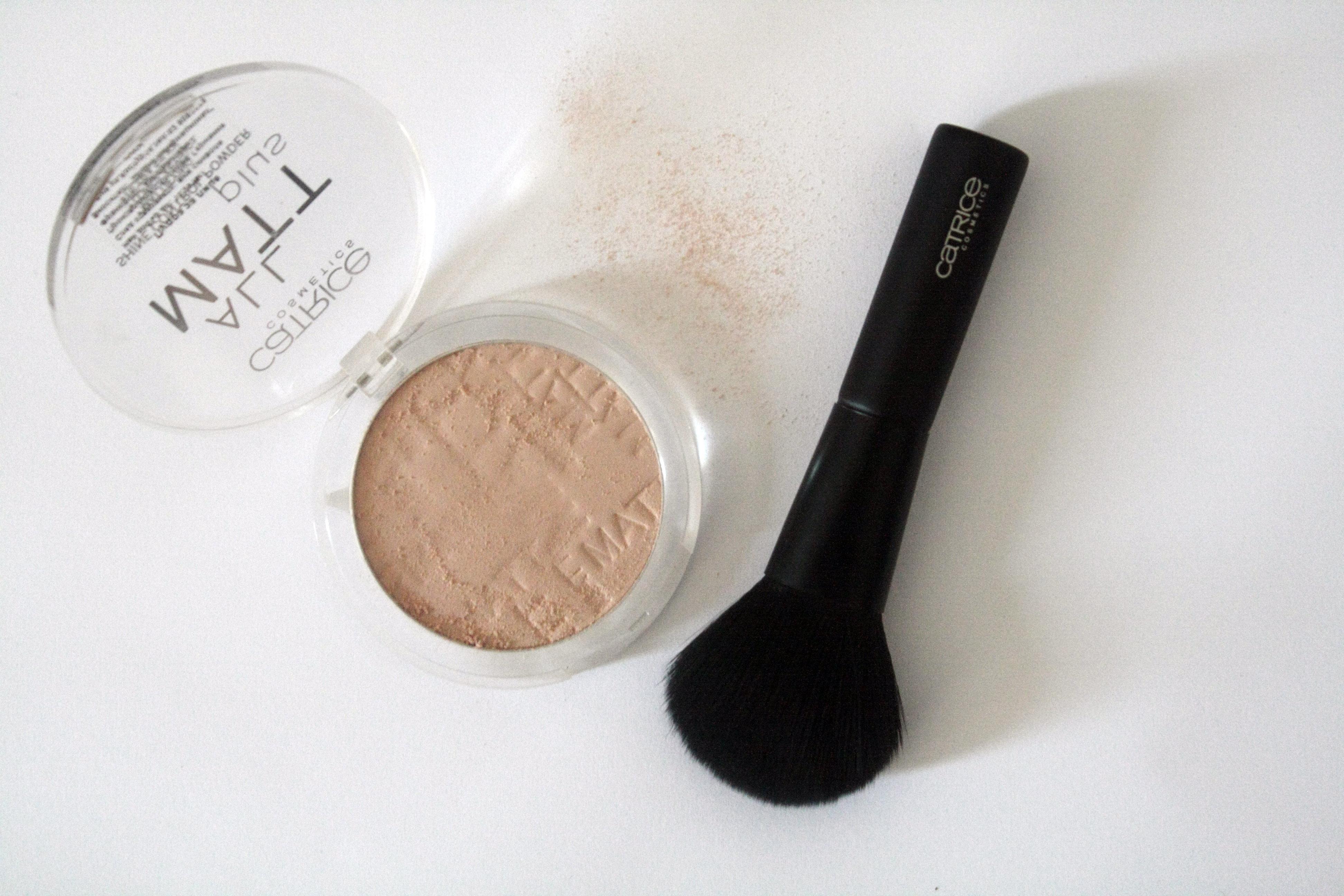 catrice all matt face powder